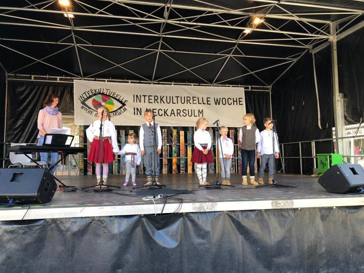 Bērnu vokālais ansamblis Štutgartē